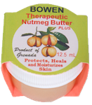 Nutmeg butter